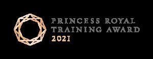 Princess Royal Training Award logo